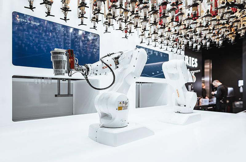 bar bionico cartonlab robots