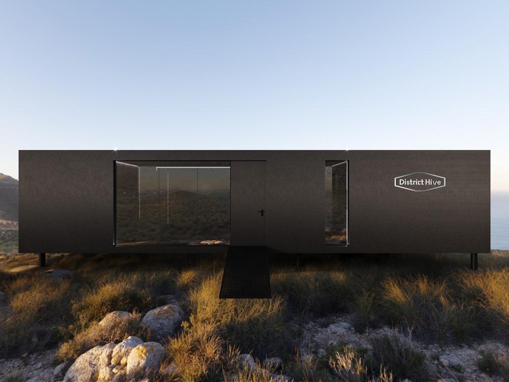 Instalación hotel nómada